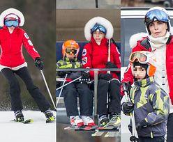 TYLKO U NAS: Dygant z partnerem i synem szaleje na nartach w Zakopanem (ZDJĘCIA)