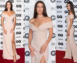 """Elegancka Bella Hadid na gali """"GQ"""". Została... modelką roku! (ZDJĘCIA)"""