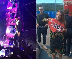 Gwiazdy na koncercie Justina Timberlake'a! (ZDJĘCIA)