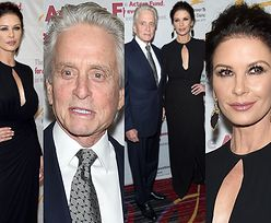 48-letnia Catherine Zeta Jones i 73-letni Michael Douglas razem na ściance (ZDJĘCIA)