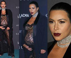 Gala LACMA: Salma Hayek i Kim Kardashian w przezroczystym kombinezonie... (ZDJĘCIA)