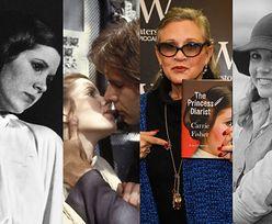 """Carrie Fisher opisała w pamiętniku romans z Harrisonem Fordem! """"Nie mogę nikomu się z tego zwierzyć, bo on ma żonę. I nie jestem nią ja"""""""