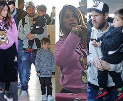 Zmęczony Messi z żoną i synami wrócił z rodzinnej Argentyny (ZDJĘCIA)