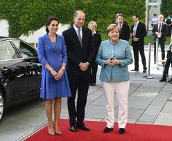Angela Merkel wita Kate i Williama w Berlinie (ZDJĘCIA)