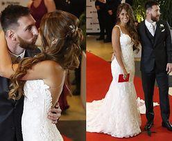 Tak wyglądał ślub Messiego w Argentynie: czerwony dywan, tłum gości i czułe pocałunki (ZDJĘCIA)