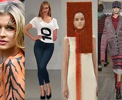 Tak wyglądał tydzień mody w Londynie: dzieci Cindy Crawford na wybiegu, Krupa jako tygrysica, prostokątne czapki... (ZDJĘCIA)