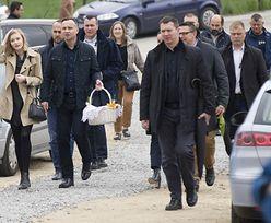 Andrzej Duda święci pokarmy z córką i ojcem (ZDJĘCIA)