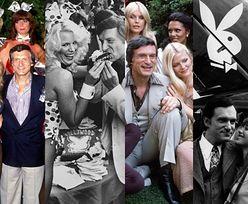 """Hugh Hefner i jego """"króliczki"""": Od Marilyn Monroe do... Romana Polańskiego (ZDJĘCIA)"""