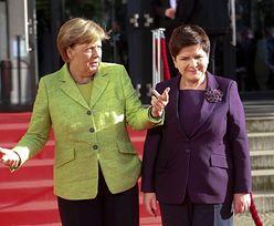 Pojedynek na kolorowe garsonki: Szydło vs. Merkel (ZDJĘCIA)