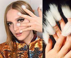 Nowa moda na... futrzane paznokcie! Dobry pomysł? (ZDJĘCIA)