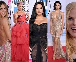 American Music Awards 2017: Pink, Nicole Kidman, Demi Lovato, Heidi Klum... (ZDJĘCIA)