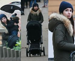 Marta Kaczyńska kibicuje córce podczas zawodów jeździeckich w Sopocie