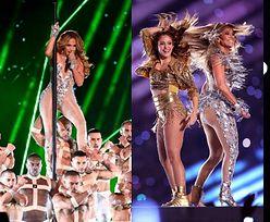 Super Bowl 2020. Gibka Jennifer Lopez i ognista Shakira czarują publiczność w przerwie meczu (ZDJĘCIA)
