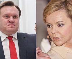 Poseł Tarczyński wyśmiewa... brwi Justyny Pochanke. Zamieścił żenujący komentarz