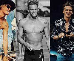 CIACHO TYGODNIA: Cody Simpson - nowy kolega Edyty Górniak, chłopak Miley Cyrus i... utalentowany pływak (ZDJĘCIA)