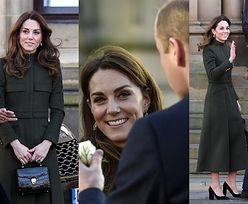 """Księżna Kate i książę William posyłają uśmiechy na pierwszym publicznym wystąpieniu od """"Megxitu"""" (ZDJĘCIA)"""