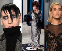 Oscary 2020: Gwiazdy przybywają na Vanity Fair Oscar Party: ponadczasowa Joan Collins, demoniczny Marilyn Manson, zmysłowa Sofia Vergara (ZDJĘCIA)