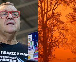 """WOŚP przekaże część zebranych pieniędzy na walkę z pożarami w Australii. Jurek Owsiak: """"Możecie na nas liczyć"""""""