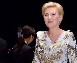 Agata Duda przekazała na licytację WOŚP żakardową suknię z intronizacji cesarza Japonii!