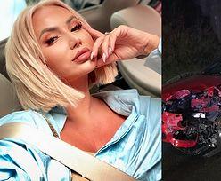 """Iza z """"Królowych Życia"""" miała poważny wypadek samochodowy"""