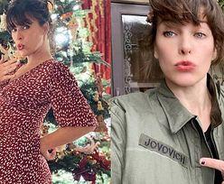 """Milla Jovovich w zaawansowanej ciąży celebruje 44. urodziny: """"Jestem niesamowicie wdzięczna za ten cud"""""""