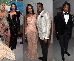 Tłum gwiazd na 50. urodzinach P.Diddy'ego: Kardashianki, Beyonce i Jay-Z, Naomi Campbell... (ZDJĘCIA)