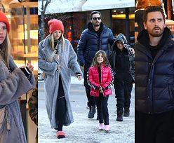 Scott Disick i Sofia Richie buszują po sklepach w Aspen z 10-letnim Masonem i 7-letnią Penelope. Słodki widok? (ZDJĘCIA)