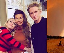 Edyta Górniak BOI SIĘ o los planety przez szalejące w Australii pożary. Za poruszający wpis dziękuje jej... chłopak Miley Cyrus