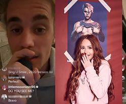 """Littlemooonster96 desperacko zabiega o uwagę Justina Biebera: """"Widzisz mnie? POWIEDZ MI CZEŚĆ!"""""""