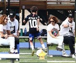 Shakira i Gerard Pique kibicują synom podczas treningu piłki nożnej w Miami (FOTO)