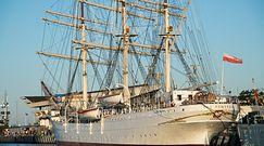 ''Dar Pomorza'' po remoncie. Niezwykłe zdjęcia z Gdyni