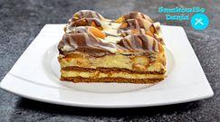 Przepyszne ciasto ''góra lodowa'' idealne na lato. Przygotujesz je szybko i bez potrzeby pieczenia