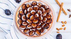 Proste jesiennie ciasto ze śliwkami