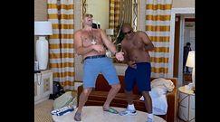 #dziejesiewsporcie: ten to ma fantazję! Fury tańczył topless i grał na gitarze powietrznej