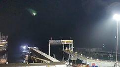 Meteoryt nad Southampton. Wyjątkowe nagranie z portu