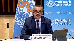 Koronawirus na świecie. Mocne słowa szefa WHO o szczepionkach