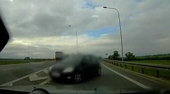 Niebezpieczne manewry na drodze. Natychmiastowa reakcja patrolu