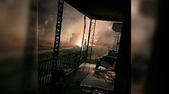 Eksplozja w Dniu Niepodległości. Nagranie świadka