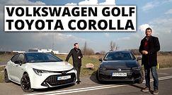 Volkswagen Golf vs Toyota Corolla - walka o przywództwo