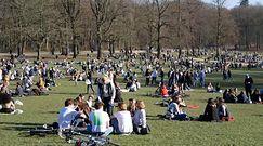 Belgia. Mimo obostrzeń tłumy w stolicy kraju