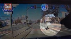 Nagranie z koszmarnego wypadku w Krakowie