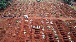 Brazylia przegrywa z pandemią. W miastach kopią setki grobów dziennie