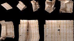 Zapieczętowany list z XVII w. Przełomowe badanie ujawniło jego treść