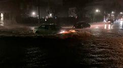 Nowy Jork pod wodą. Dramatyczne nagrania świadków