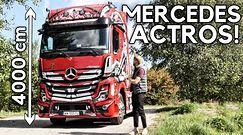 Mercedes Actros - spełniłem marzenie z dzieciństwa