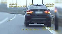 Autostradą z niedokręconym kołem. Zaskakująca kontrola BMW