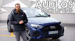 Audi Q5 face lifting – Sposób na kierowców na ogonie
