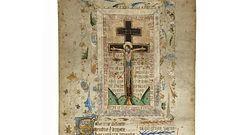 Zwój sprzed 500 lat ujawnia kult krzyża Jezusa. Historycy z Wielkiej Brytanii pokazują dokument