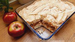 Przepis na ryż z jabłkami pod bezową pierzynką