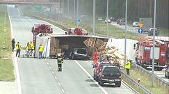 Poważny wypadek na S17 pod Garwolinem. Kilkoro rannych trafiło do szpitala